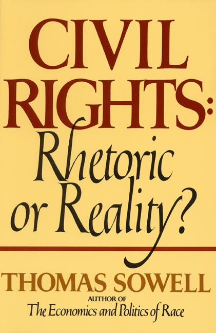Civil Rights By Sowell, Thomas